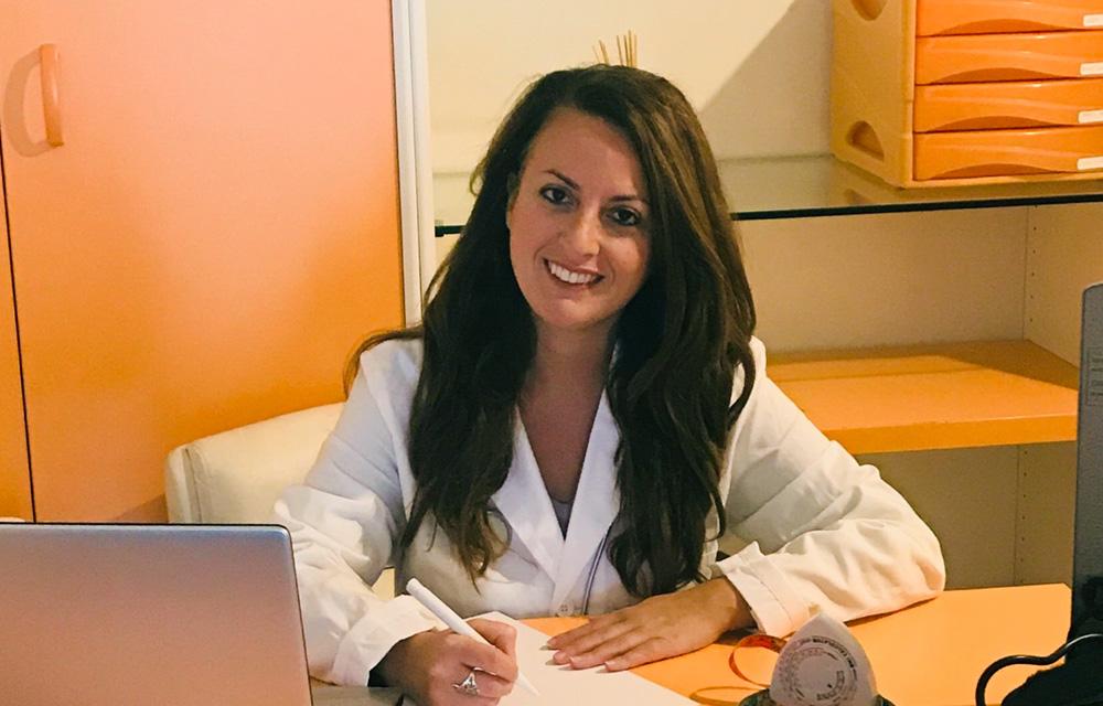 Dottoressa Vanessa La Vela, medico specialista in Scienze dell'Alimentazione, Poliambulatorio Mirelli