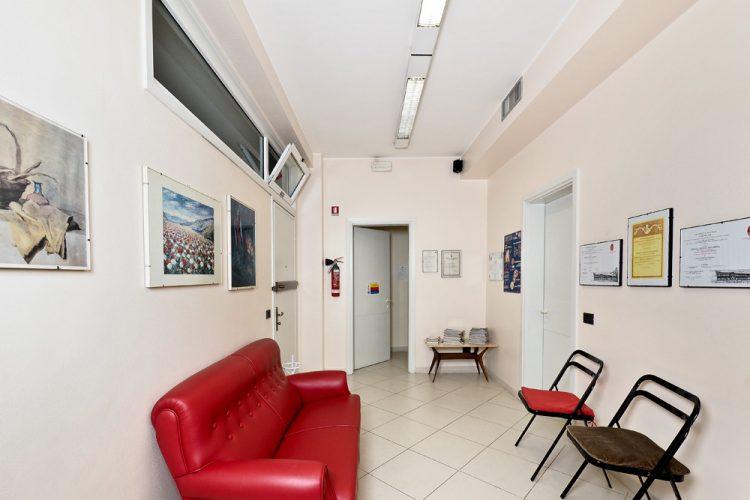 Poliambulatorio medico odontoiatrico Mirelli, Busto Arsizio, Varese, sala attesa